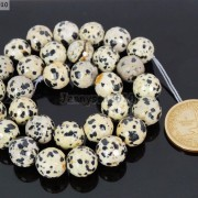 Natural-Dalmation-Jasper-Gemstone-Faceted-Round-Beads-15039039-4mm-6mm-8mm-10mm-12mm-370929400663-0e75