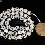 Natural-Dalmation-Jasper-Gemstone-Faceted-Round-Beads-15039039-4mm-6mm-8mm-10mm-12mm-370929400663-9d76