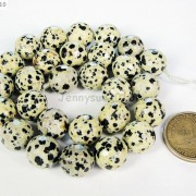 Natural-Dalmation-Jasper-Gemstone-Faceted-Round-Beads-15039039-4mm-6mm-8mm-10mm-12mm-370929400663-c9a6