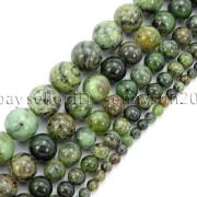 Natural-Dendrite-Green-Jade-Gemstone-Round-Spacer-Beads-155-4mm-6mm-8mm-10mm-371832288613
