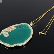 Natural-Druzy-Quartz-Agate-Gemstone-Sliced-Pendant-Charm-Bead-Necklace-18K-Gold-371320043278-16f6
