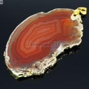 Natural-Druzy-Quartz-Agate-Gemstone-Sliced-Pendant-Charm-Bead-Necklace-18K-Gold-371320043278-7f5d