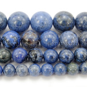 Natural-Dumortierite-Gemstone-Round-Spacer-Beads-155-6mm-8mm-10mm-12mm-282317113539-2