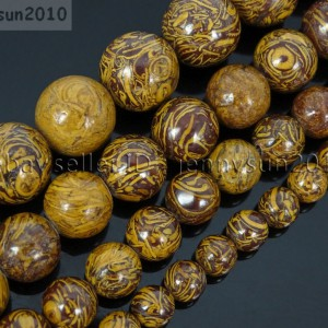 Natural-Elephant-Skin-Jasper-Gemstone-Round-Beads-155-6mm-8mm-10mm-12mm-371570201954