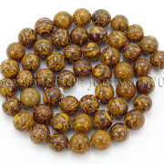 Natural-Elephant-Skin-Jasper-Gemstone-Round-Beads-155quot-6mm-8mm-10mm-12mm-282307207265-8e38