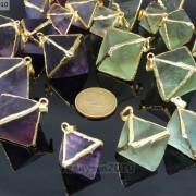 Natural-Fluorite-Gemstone-Octagonal-Pointed-Reiki-Healing-Pendants-Gold-Edge-261832014194-2