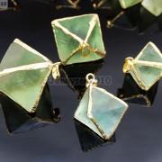 Natural-Fluorite-Gemstone-Octagonal-Pointed-Reiki-Healing-Pendants-Gold-Edge-261832014194-ad5b