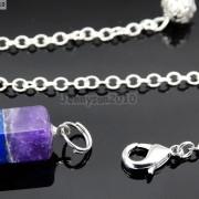 Natural-Gemstone-Layered-Hexagonal-Pointed-Reiki-Chakra-Healing-Pendum-Chain-Set-371294783171-7