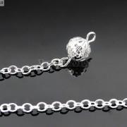 Natural-Gemstone-Layered-Hexagonal-Pointed-Reiki-Chakra-Healing-Pendum-Chain-Set-371294783171-8