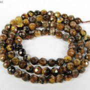 Natural-Gemstones-35mm-4mm-45mm-Faceted-Round-Beads-15039039-16039039-Pick-Stone-370934550835-a609