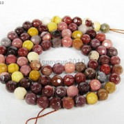 Natural-Gemstones-35mm-4mm-45mm-Faceted-Round-Beads-15039039-16039039-Pick-Stone-370934550835-db93