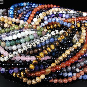 Natural-Gemstones-55mm-6mm-65mm-Round-Loose-Beads-15-16-Pick-Stone-281222733730