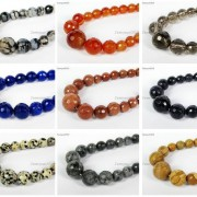 Natural-Gemstones-6mm-14mm-Faceted-Round-Graduated-Loose-Beads-17-Pick-Stone-370935188818-5
