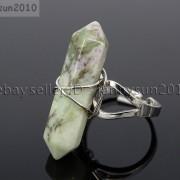 Natural-Gemstones-Hexagonal-Pointed-Reiki-Chakra-Beads-Adjustable-Ring-Healing-371063374753-3b5e
