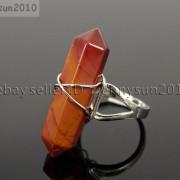 Natural-Gemstones-Hexagonal-Pointed-Reiki-Chakra-Beads-Adjustable-Ring-Healing-371063374753-6a4b