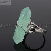 Natural-Gemstones-Hexagonal-Pointed-Reiki-Chakra-Beads-Adjustable-Ring-Healing-371063374753-7423