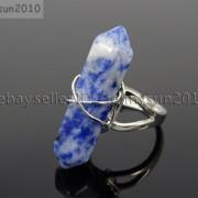 Natural-Gemstones-Hexagonal-Pointed-Reiki-Chakra-Beads-Adjustable-Ring-Healing-371063374753-8ed1