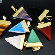Natural-Gemstones-Triangle-Pointed-Sliced-Reiki-Chakra-Healing-Pendant-Beads-371176541508-3