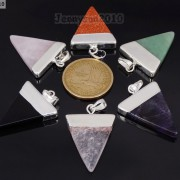 Natural-Gemstones-Triangle-Pointed-Sliced-Reiki-Chakra-Healing-Pendant-Beads-371176541508-4