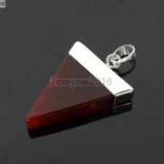 Natural-Gemstones-Triangle-Pointed-Sliced-Reiki-Chakra-Healing-Pendant-Beads-371176541508-46b5