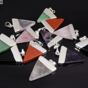 Natural-Gemstones-Triangle-Pointed-Sliced-Reiki-Chakra-Healing-Pendant-Beads-371176541508-6