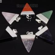 Natural-Gemstones-Triangle-Pointed-Sliced-Reiki-Chakra-Healing-Pendant-Beads-371176541508-7