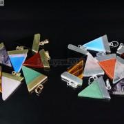 Natural-Gemstones-Triangle-Pointed-Sliced-Reiki-Chakra-Healing-Pendant-Beads-371176541508-8