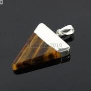 Natural-Gemstones-Triangle-Pointed-Sliced-Reiki-Chakra-Healing-Pendant-Beads-371176541508-8ac9