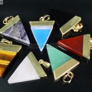 Natural-Gemstones-Triangle-Pointed-Sliced-Reiki-Chakra-Healing-Pendant-Beads-371176541508-9
