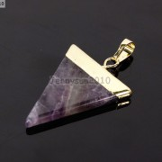 Natural-Gemstones-Triangle-Pointed-Sliced-Reiki-Chakra-Healing-Pendant-Beads-371176541508-bb0a