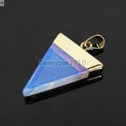 Natural-Gemstones-Triangle-Pointed-Sliced-Reiki-Chakra-Healing-Pendant-Beads-371176541508-e0f3