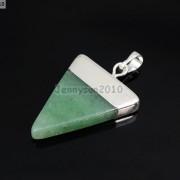 Natural-Gemstones-Triangle-Pointed-Sliced-Reiki-Chakra-Healing-Pendant-Beads-371176541508-e60a