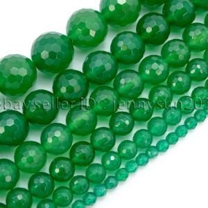 Natural-Green-Agate-Gemstone-Faceted-Round-Beads-15-4mm-6mm-8mm-10mm-12mm-14mm-282056203806