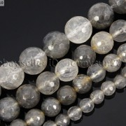 Natural-Grey-Cloudy-Quartz-Gemstone-Faceted-Round-Beads-155-6mm-8mm-10mm-12mm-281772632406