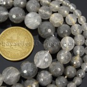 Natural-Grey-Cloudy-Quartz-Gemstone-Faceted-Round-Beads-155-6mm-8mm-10mm-12mm-281772632406-2