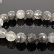 Natural-Grey-Cloudy-Quartz-Gemstone-Faceted-Round-Beads-155-6mm-8mm-10mm-12mm-281772632406-3