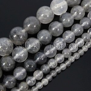 Natural-Grey-Cloudy-Quartz-Gemstone-Round-Beads-155-4mm-6mm-8mm-10mm-12mm-282061232503