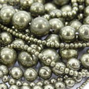 Natural-Grey-Silver-Pyrite-Gemstone-Round-Beads-16-2mm-4mm-6mm-8mm-10mm-12mm-370688467186-2