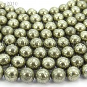 Natural-Grey-Silver-Pyrite-Gemstone-Round-Beads-16-2mm-4mm-6mm-8mm-10mm-12mm-370688467186-3