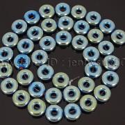 Natural-Hematite-Gemstone-Round-Donut-Ring-Spacer-Loose-Beads-10mm-16039039-Strand-371802208895-c3cc