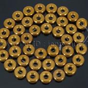 Natural-Hematite-Gemstone-Round-Donut-Ring-Spacer-Loose-Beads-10mm-16039039-Strand-371802208895-cf4b