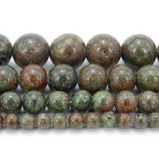 Natural-Kasgar-Garnet-Jasper-Gemstone-Round-Spacer-Beads-155-4mm-6mm-8mm-10mm-371881869677-2