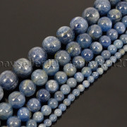 Natural-Kyanite-Gemstone-Round-Loose-Spacer-Beads-15-4mm-6mm-8mm-10mm-12mm-262720197092-3