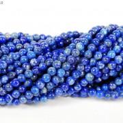 Natural-Lapis-Lazuli-Gemstone-Round-Beads-155039039-2mm-3mm-4mm-6mm-8mm-10mm-12mm-251080358362-9308