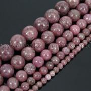 Natural-Lepidolite-Gemstones-Round-Spacer-Loose-Beads-15-4mm-6mm-8mm-10mm-12mm-262734259652-2