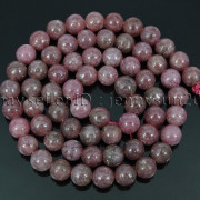 Natural-Lepidolite-Gemstones-Round-Spacer-Loose-Beads-15quot-4mm-6mm-8mm-10mm-12mm-262734259652-7cce