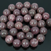 Natural-Lepidolite-Gemstones-Round-Spacer-Loose-Beads-15quot-4mm-6mm-8mm-10mm-12mm-262734259652-d96a