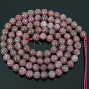 Natural-Lepidolite-Gemstones-Round-Spacer-Loose-Beads-15quot-4mm-6mm-8mm-10mm-12mm-262734259652-efff
