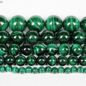 Natural-Malachite-Gemstone-Round-Beads-155-Strand-4mm-6mm-8mm-10mm-12mm-251101201351