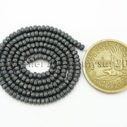 Natural-Matte-Hematite-Gemstones-2mm-x-3mm-Faceted-Rondelle-Loose-Beads-16039039-282281927897-ca5e